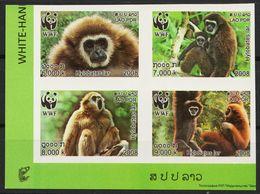Laos 2008 WWF 2062 – 2065 A Postfrisch - Laos