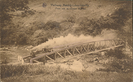 BELGIAN CONGO  RAILWAY MATADI LEOPOLDVILLE PC - Congo Belga