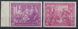 DDR Nr. 248-249 ** (Michel 20,- €) - [6] République Démocratique