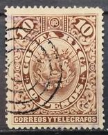 1892 COSTA RICA Coat Of Arms - Costa Rica