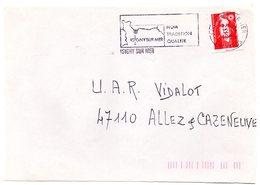 CALVADOS - Dépt N° 14 = ISIGNY Sur MER 1995 = FLAMME SECAP Illustrée = Nom,tradition,qualité - Postmark Collection (Covers)