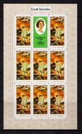 COOK  ISLANDS    1970    Easter  Paintings    Sheetlet    MNH - Cook Islands