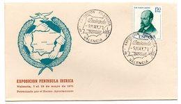 Carta  Con Matasellos Commemorativo  Filatelia Peninsula Iberica. 1971 - 1931-Hoy: 2ª República - ... Juan Carlos I