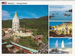 Malaysia - Penang Island.. Sent To Denmark  1994   H-886 - Malaysia