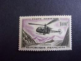 FRANCE YVERT POSTE AÉRIENNE 37 NEUF** 72 EURO - 1927-1959 Nuevos