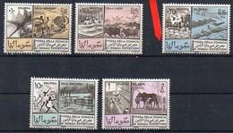 Somalia 1965 MiNr. 74/ 78  **/ Mnh ; 8. Somalimesse - Somalia (1960-...)
