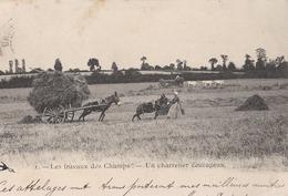 Les Travaux Des Champs Un Charretier Courageux (LOT AE 23) - Farmers