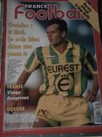 France Football N° 2536 Du 15 Novembre 1994 BERNES Attend Le Juge - OUEDEC - FRANCE Virage Dangereux - Sport