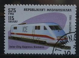 1993 Madagasikara Treno.. Usato 76/2 - Treni
