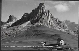 RIFUGIO DOLOMITI - FALCADE - FOTO MARINO FALCADE - VIAGGIATA E TASSATA DA CAVIOLA (BL) 27.08.1959 - Alpinisme