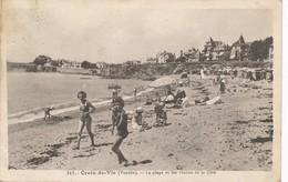 CPA - France - (85) Vendée - Croix-de-Vie - La Plage Et Les Chalets De La Côte - Saint Gilles Croix De Vie