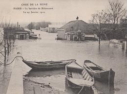 Paris La Barriere De Billancourt Le 19 Janvier 1910(LOT AE 23) - Inondations De 1910