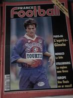 France Football N° 2508 Du 3 Mai 1994 VA-OM BURRUCHAGE Contre-attaque, PSG L'après GINOLA, MONACO Le Bide Etc... - Sport