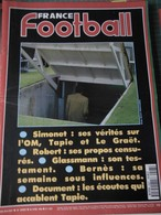 France Football N° 2507 Du 26 Avril 1994 SIMONET Ses Vérités Sur L'OM - TAPIE, GLASSMAN, BERNES - Document Les écoutes - Sport