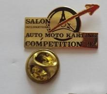 Pin's  Salon Arto Moto Karting Compétition 92 - Autres
