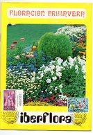 Librito Con Matasellos De Iberflora De 1975 - España