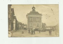 80 - AIRAINES - CP PHOTO - La Mairie Animée état Voir Scan ( Petites Taches Sinon Tb ) - Francia