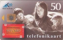 TARJETA TELEFONICA DE ESTONIA, TIRADA 40000 (040) - Estonia