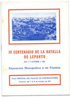Librito  Iv Centenario De La Batalla De Lepanto De 1971 - Otros