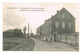 BERINGEN   Gendarmerie En Gemeenteschool - Beringen