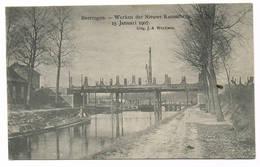 BERINGEN  Werken Der Nieuwe Kanaalbrug - Beringen