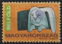 Lapin - Rabbit - 2008 Hungary - Stamp - Used - Konijnen