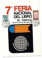 Tarjeta  Con Matasellos Feria Del Libro De 1972 - España