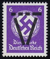 Saulgau XVI Aufdruck Auf D 169, Marke Postfrisch  - Allemagne