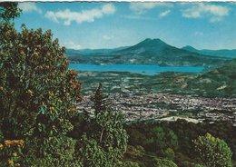 El Salvador. Vista Panoramica. Red Cross Stamp.  Sent To Denmark  1970     B-3368 - El Salvador