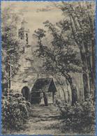 BRETAGNE Chapelle De La Forêt Du Cranon (Finistere)  Aquarelle De Ch. Corcuff - Peintures & Tableaux