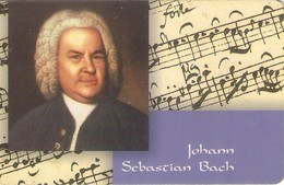 TARJETA TELEFONICA DE ALEMANIA. PD15.99 (070) JOHANN SEBASTIAN BACH - Música