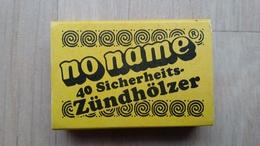 Zündholzschachtel Der HILL-Supermarkt-Kette (Deutschland) Aus Den 1980ern - Zündholzschachteln