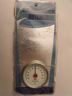 L'approvisionnement Automobile. Thermomètre. Maquette Originale D'un Panneau Publicitaire Marcel Jost Vers 1950-60 - Plaques En Carton
