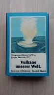 Zündholzschachtel Mit Einem Vulkan (Niragongo, Zaire) Von ZÜNDIS (Deutschland) - Zündholzschachteln