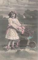 Carte Postale Ancienne Fantaisie - Fillette - Fantaisies