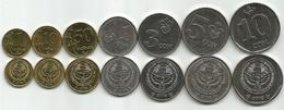 Kyrgyzstan 2008/09. Set Of 7 High Grade Coins - Kyrgyzstan