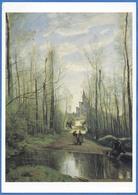 Camille COROT (1796-1875)  L'Eglise De Marissel, Près De Beauvais, 1866 - Peintures & Tableaux