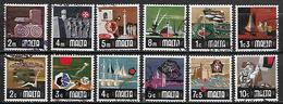 MALTE    -   1973 .   Y&T N° 459 à 570 Oblitérés. - Malta
