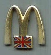 @@ Pin's Mac Donald's Blason Royaume Uni (1.5x1.6) @@md23 - McDonald's