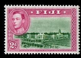 Fiji. 1938 -1950 Local Motifs. 2p. MNH - Fidschi-Inseln (...-1970)