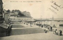 Belle Ile En Mer - Le Palais - Le Quai Macé - éditeur ND Phot N°49 - AA190 - Belle Ile En Mer