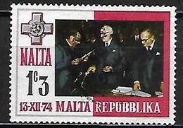 MALTE    -   1975 .   Y&T N° 500 Oblitéré - Malta