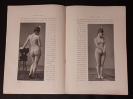 NU FEMME AUTRICHIENNES VIENNOISES ET HONGROISES A VIGNOLA 1907 NU NUDE DENUDO NUDA  NACKT - Vieux Papiers