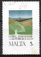 MALTE    -   1975 .   Y&T N° 517 Oblitéré - Malta
