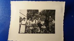 PHOTO DE CYCLISTE SOLEX ? MODE TENUE D'EPOQUE - Cyclisme