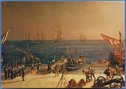 CAP D'ANTIBES  Débarquement De Napoléon à Golfe Juan (1er Mars 1815) - Peintures & Tableaux