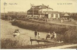 Heyst S/ Mer -- Le Lac Et La Laiterie.    ( 2 Scans ) - Heist
