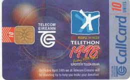 """IRELAND - Telethon """"98, 03/98, Used - Ireland"""
