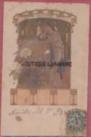 ILLUSTRATEUR -Elisabeth SONREL--Automne --Série Des Quatre Saisons--art Nouveau---precurseur - Illustrateurs & Photographes