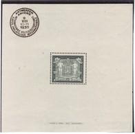 # E-9160 1930 Michel Block 1 MLH: Philatelic Exhibition Antwerpen, Coat Of Arms - Neufs